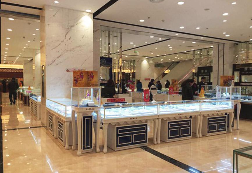Открытие ювелирного салона АЛМАЗ-ХОЛДИНГ в Китае!