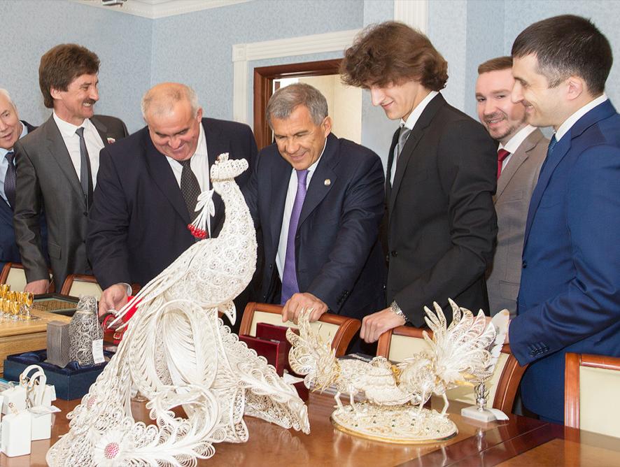 Визит президента Республики Татарстан